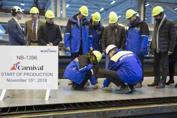 Carnival Cruise Line Begins Construction of its Newest and Largest Ship | 26