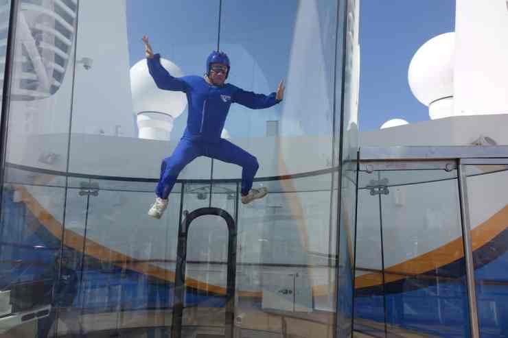 Rip Cord by iFly on Anthem of the Seas