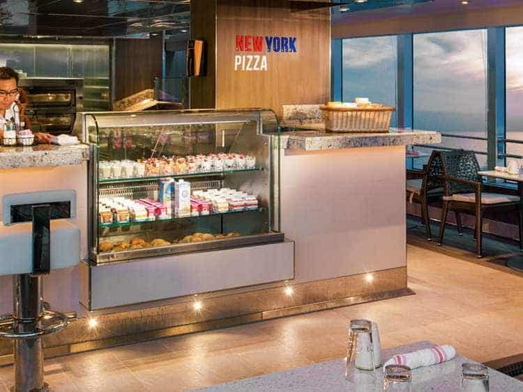 Holland America Line's New York Pizza