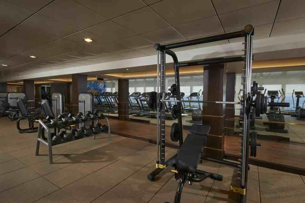 Celebrity Edge gym