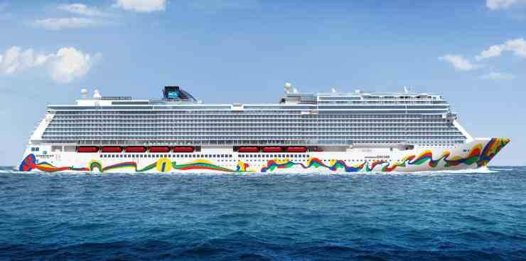 Norwegian Cruise Line Norwegian Encore cruise ship