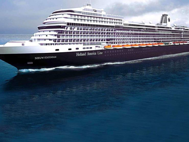 Holland America Line's Nieuw Statendam cruise ship