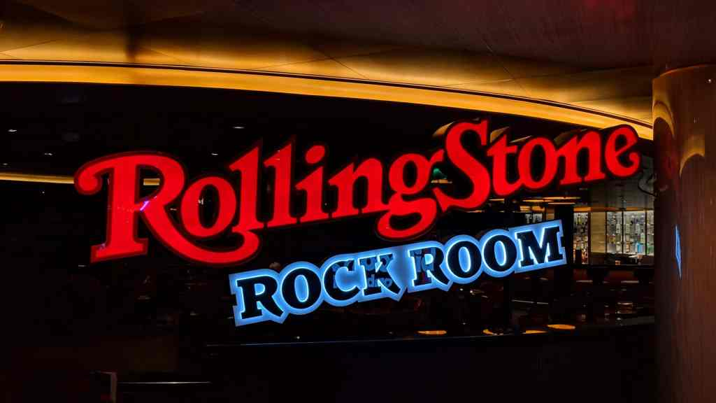 Rolling Stone Rock Room on Nieuw Statendam
