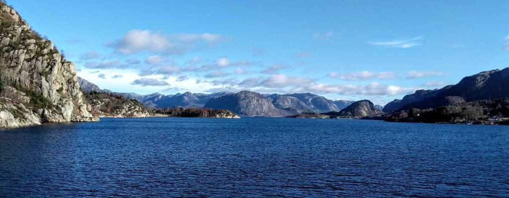 Lysefjord in Stavanger, Norway