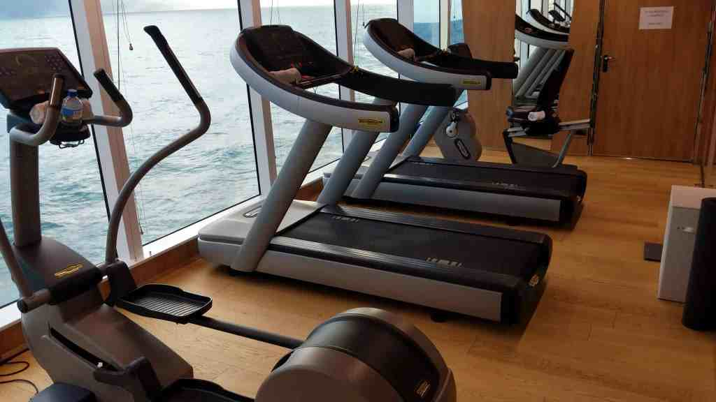 Fitness center on Le Laperouse