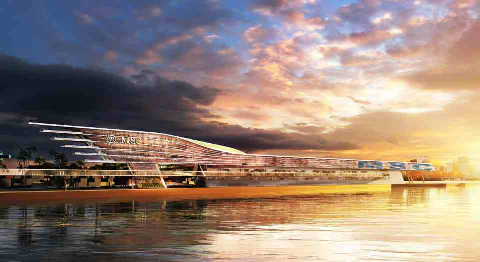 MSC Cruises Unveils Plans for Innovative Terminal at PortMiami