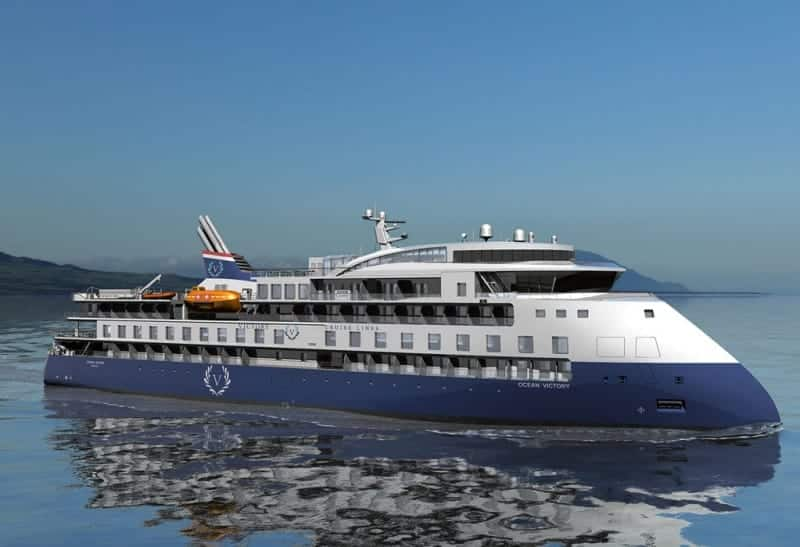 M/VOcean Victory by Victory Cruise Lines.