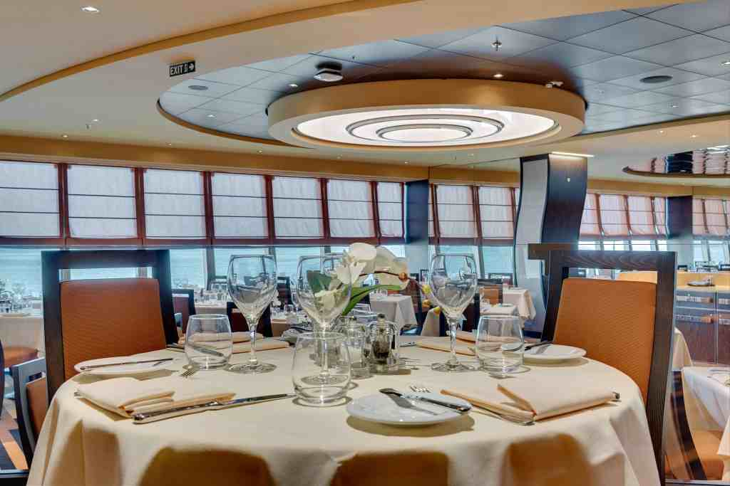 Panorama Restaurant aboard MSC Meraviglia