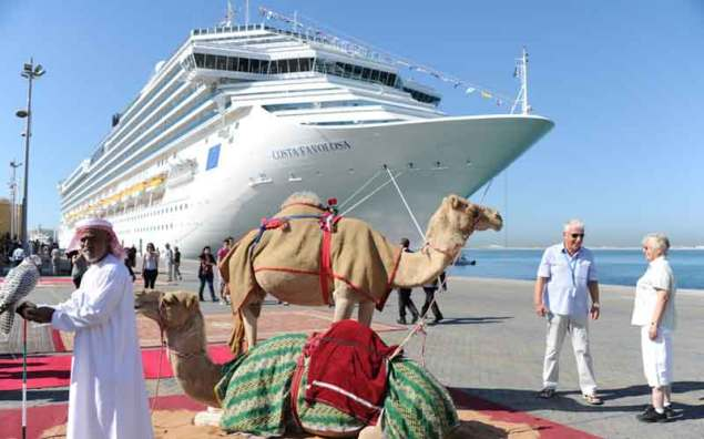 the normalisation deal provides israeli cruise tourists access to a region that has until now been off limits
