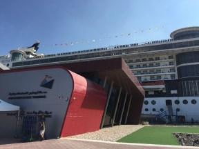 abu dhabi cruise terminal at port zayed