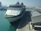celebrity constellation alongside at the abu dhabi cruise terminal