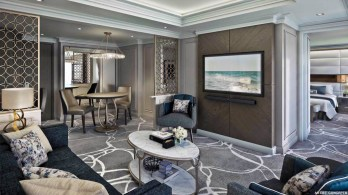 crystal espirit features one of the most luxurious owner's suites in the cruise fleet.
