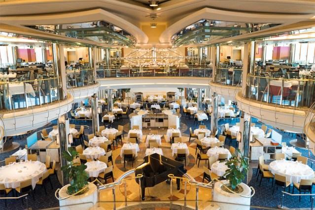 marella cruises dining room
