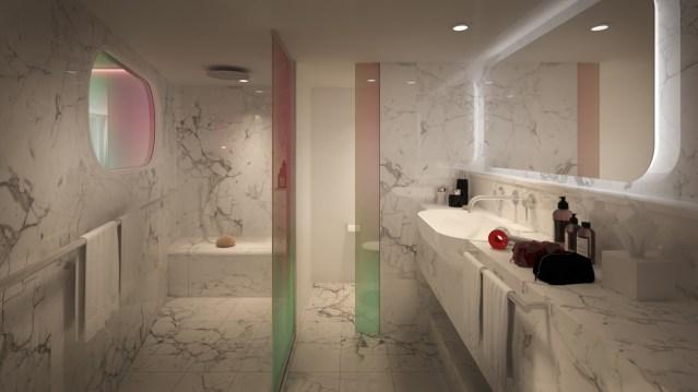 megasuite bathroom virginvoyages