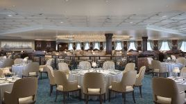grand dining room aboard insignia