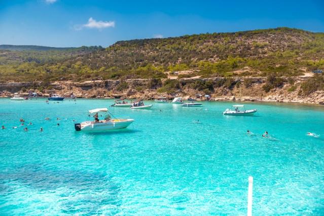 1. visit cyprus - explore the underwater world