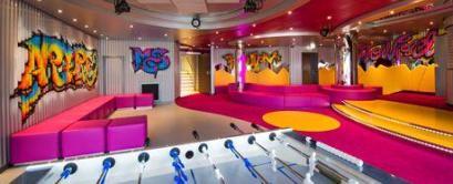teens club aboard msc bellissima