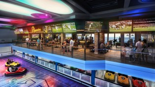 playmakers sits above the seaplex where the most interactive arcade to date and the popular bumper cars will be located