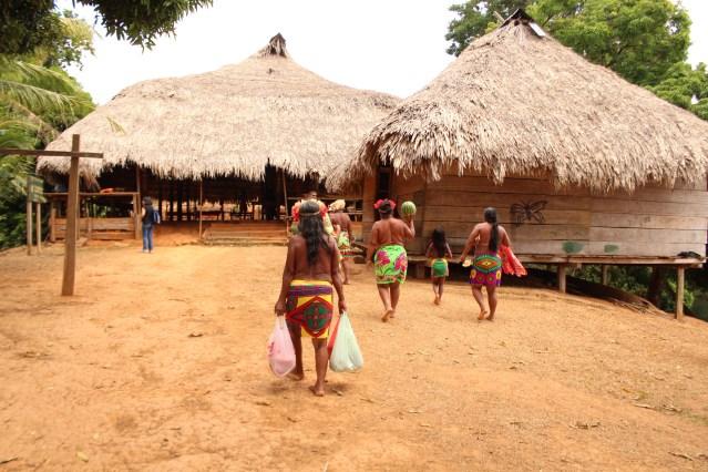 emberá native village