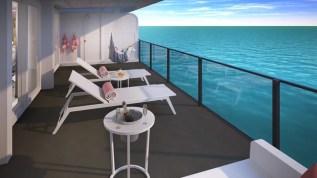 posh suite terrace
