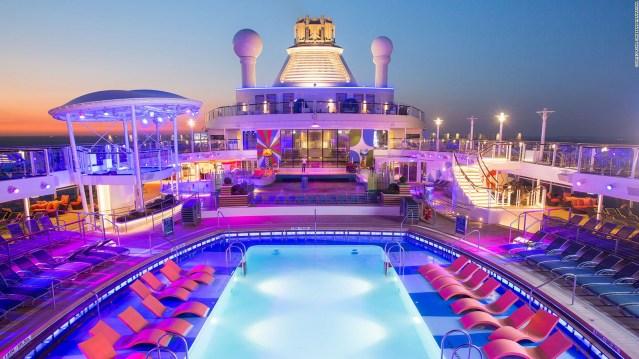 anthem of the seas pool deck