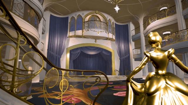 disney wish entertainment grand hall stage th