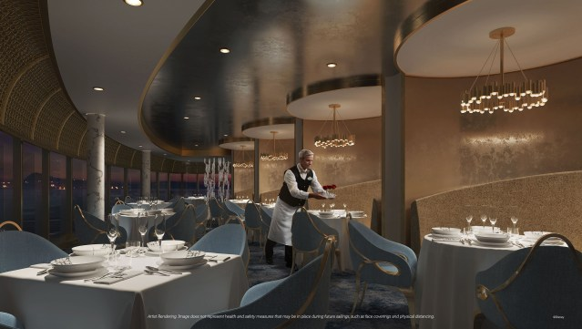 disney wish premiere dining enchante by chef arnaud lallement
