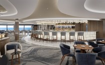 the horizons lounge will offer floor to ceiling windows and spectacular views