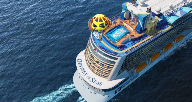 odyssey of the seas stern view
