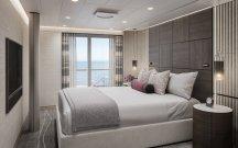 vista oceania suite bedroom