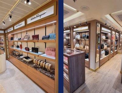 costa firenze will feature 13 italian designer stores.