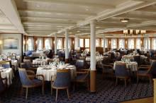 main dining room aboard sea cloud spirit