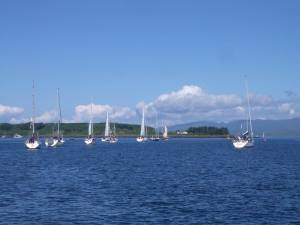 adventure sailing Scotland