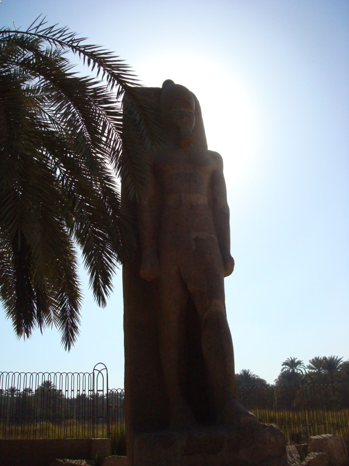 Bild von den Ruinen von Ptah