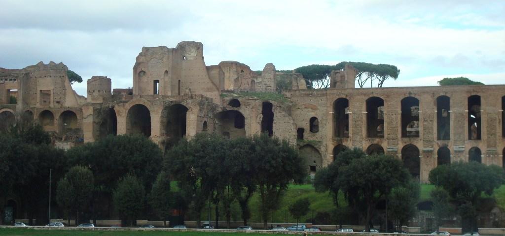Alte Ruinen in Rom
