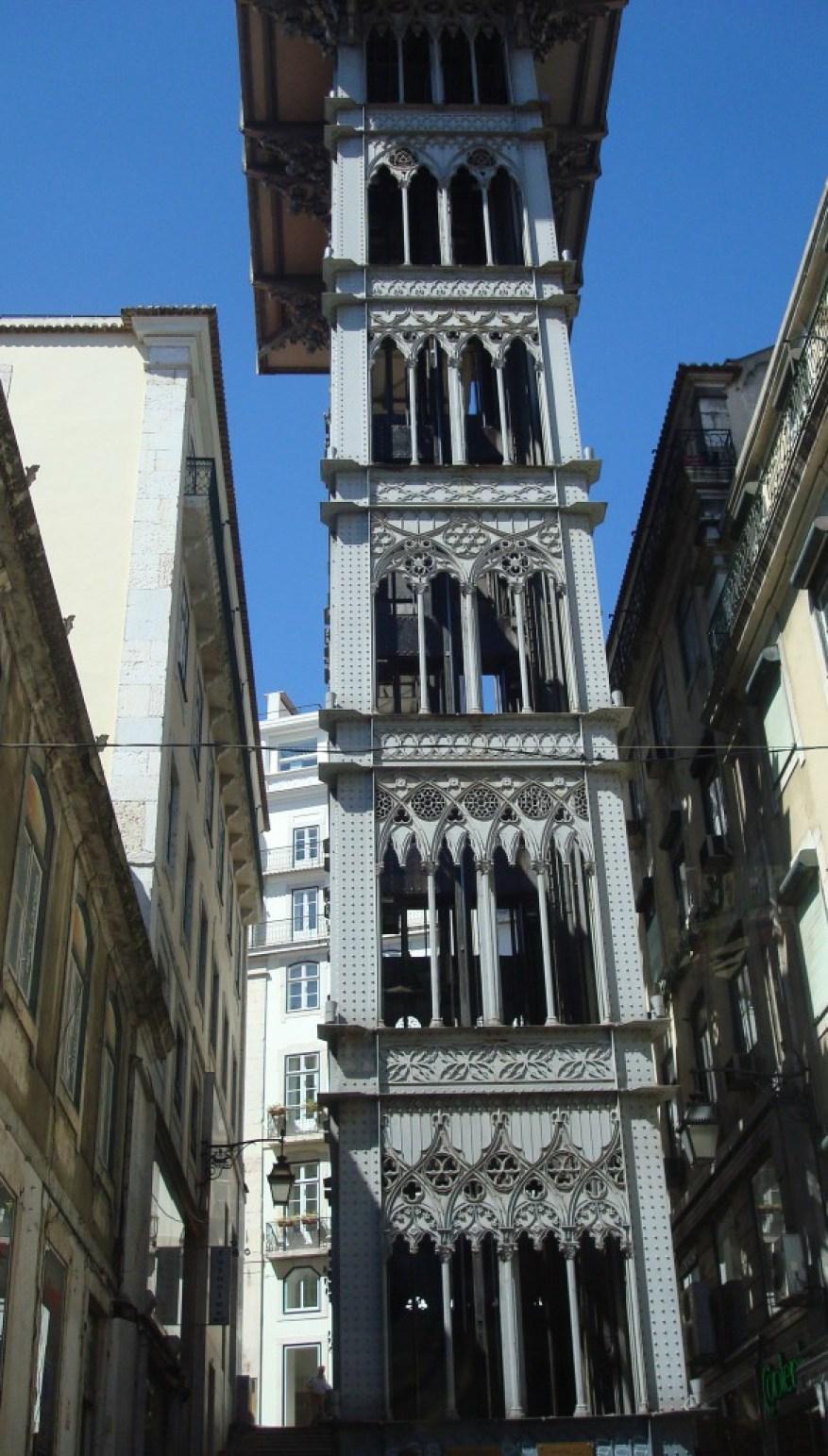 Aufzug Gustavo Eiffel Lisboa