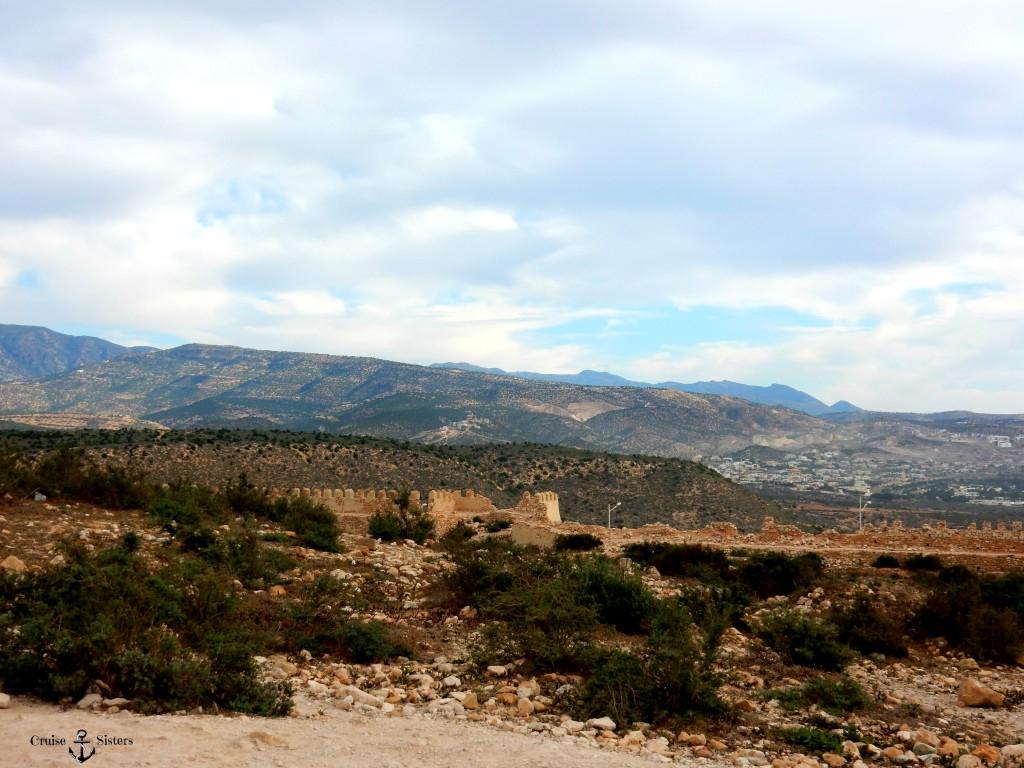 Blick auf das Atlas Gebirge Agadir in Marokko