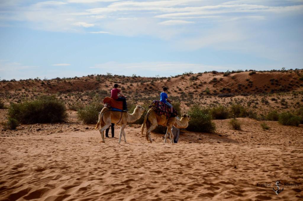 Mein Schiff 4 Landausflug Kamelreiten in Agadir Marokko