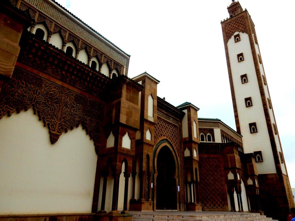 Die Moschee in La Médina d'Agadir in Agadir in Marokko
