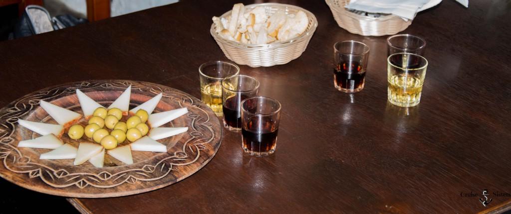 Weinprobe auf Lanzarote in dem Restaurant Bodega Antonia Suarez