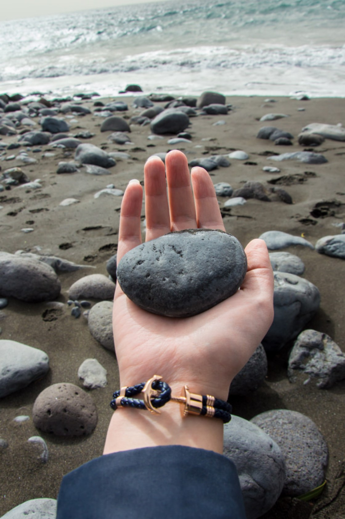 Paul Hewitt Armband Foto auf La Gomera