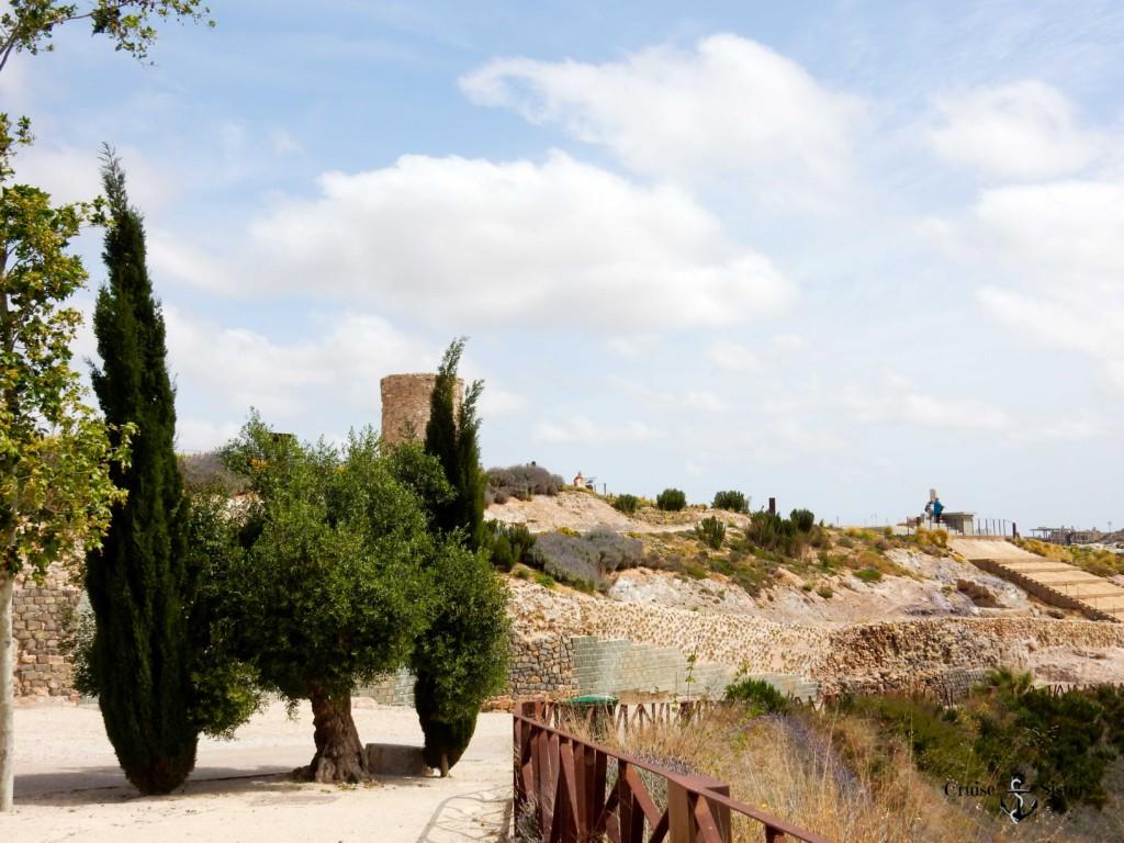 Ausgrabungsstätte Park in Cartagena