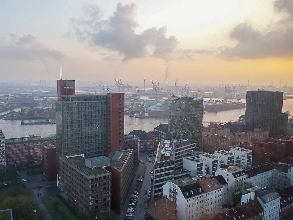 Blick aus dem Clouds in Hamburg