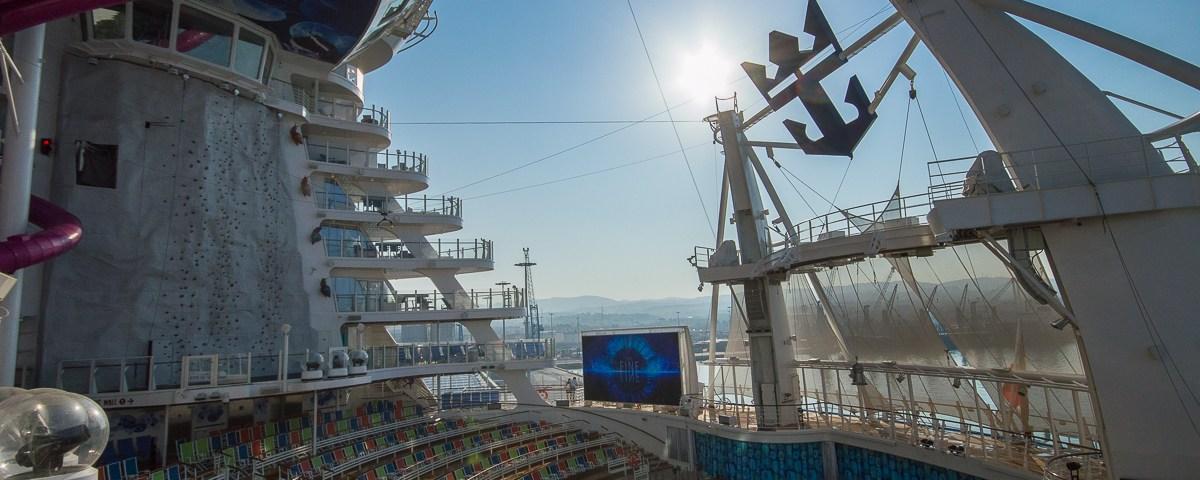 The Aqua Theater aboard the Harmony of the Seas