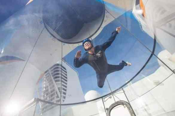 You can fly withRipCord by iFLY aboard Quantum of the Seas.