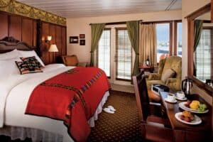Queen of the West Stateroom
