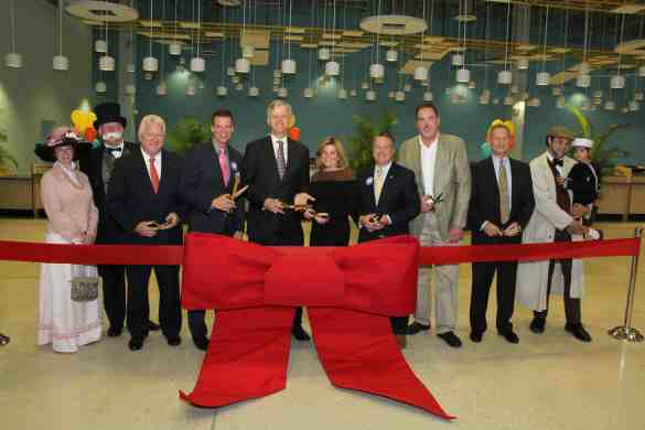 Cruise Terminal 4 officially opened today with a ribbon-cutting ceremony that also celebrated Broward 100, the County's centennial year and commitment to the arts.