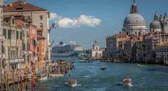 Viking Star in Venice, Italy