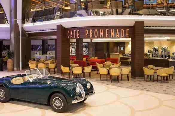 Cafe Promenade - Deck 5 Midship Royal Promenade Harmony of the Seas - Royal Caribbean International