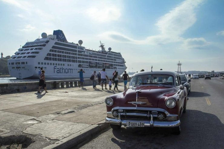 During each sailing, Fathom will visit Havana, Cienfuegos and Santiago de Cuba, three ports of call for which Carnival Corporation has obtained berthing approval (PRNewsFoto/Carnival Corporation & plc)